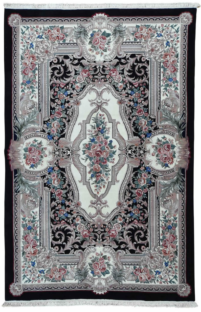 LOUIS PHILIP EUROPEAN DESIGN HAND-KNOTTED RUG