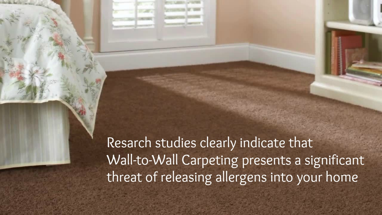 Wall to wall carpets Allergies