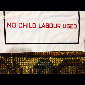 Ethical rugs don't use child labor