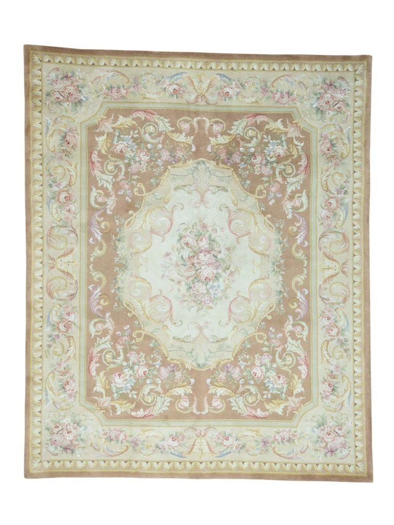 savonnerie rug handmade