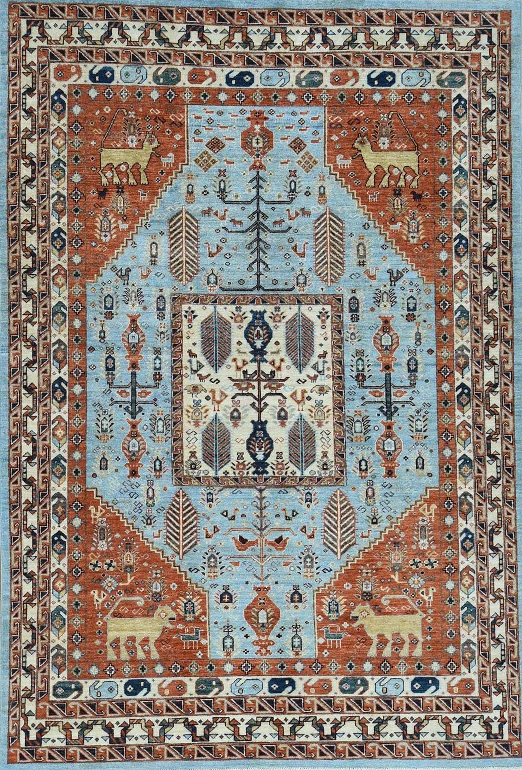 Hand Made Peshawar Design Rugs and Carpets