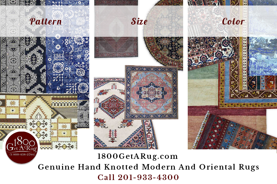 1800GetARug - Size / Color / Pattern - Choose a Right Rug for Your Home